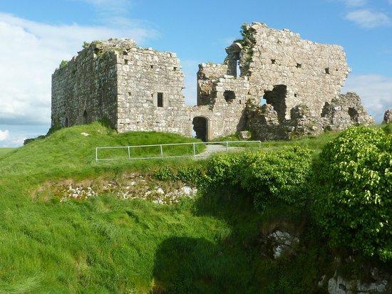 Rock of Dunamase: The Great Hall