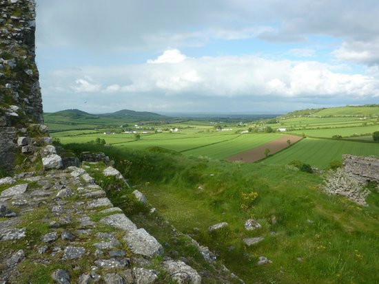 View Of The Countryside from The Rock of Dunamase