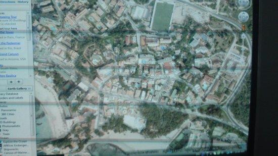 Hotel Seramar Sunna Park: там где футбольное поле рядом и есть отель