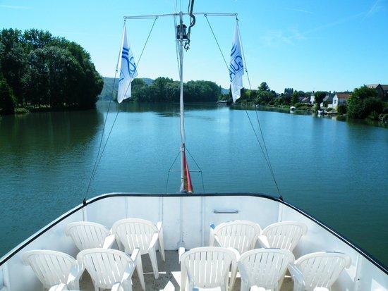 Bateau Guillaume le Conquerant: En navigation