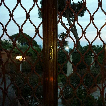 Romantik Hotel Villa Pagoda : Vista dal ristorante