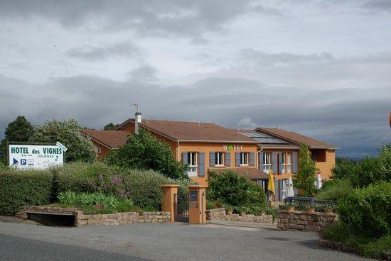 Hotel des Vignes: Hôtel des Vignes à Julienas
