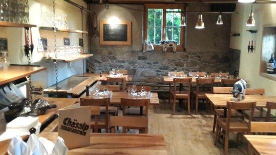 Chaesalp: restaurant area