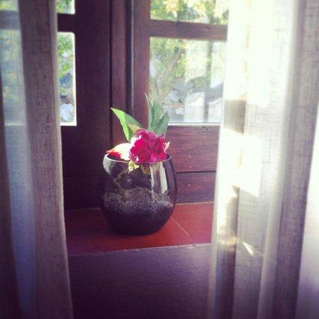 Hotel La tartana: detalle habitación