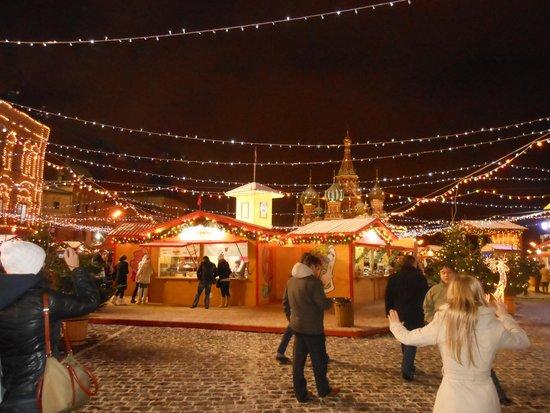 Roter Platz: Craft stalls etc. Red Square