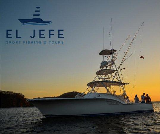 El Jefe Sport Fishing: El Jefe SportFishing & Adventure tours. Costa Rica.