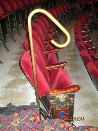 "Sheldon Theatre of Performing Arts : ""jeweled"" seats"