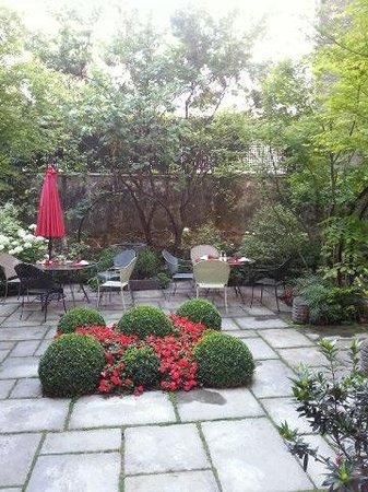 Hotel Regent's Garden: le jardin... hâvre de paix !