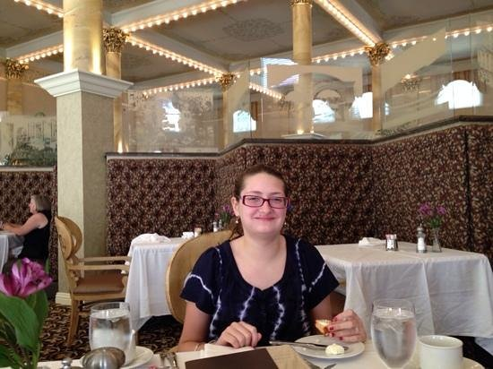 Sinclair's Restaurant: Isabelle at Sinclairs for lunch