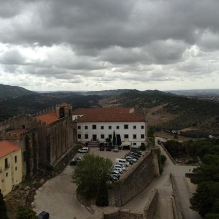 Pousada de Palmela Historic Hotel: view from the castle next door