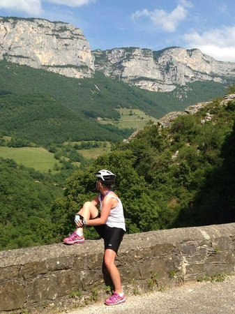 Velo Vercors : Stopping to take in the views