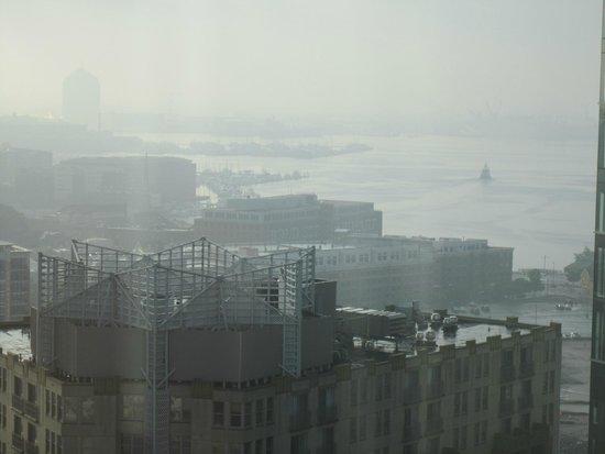 Baltimore Marriott Waterfront: Vista hacia la Bahia