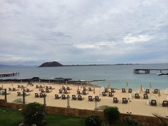 Gran Hotel Atlantis Bahia Real: Privater Strand vom Hotel!