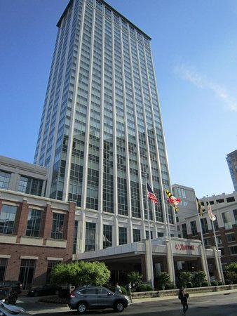 Baltimore Marriott Waterfront: El Hotel desde afuera