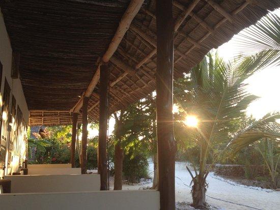 Zanzest Beach Bungalows: tramonto