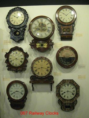 National Watch and Clock Museum : Railway Clocks