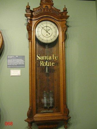 National Watch and Clock Museum : Santa Fe Railway Clock