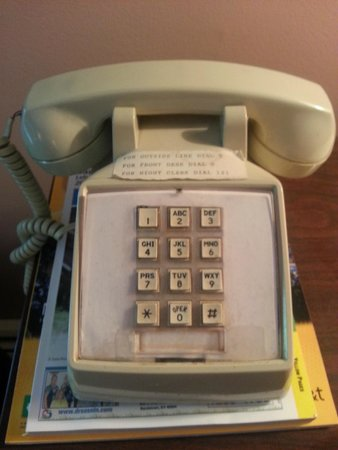Bardstown Parkview Motel: The Room Phone