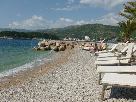 Valamar Dubrovnik President Hotel: Beach