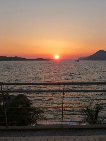 Valamar Dubrovnik President Hotel: Sunset