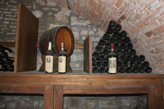 Castello di Verrazzano: В погребе -2