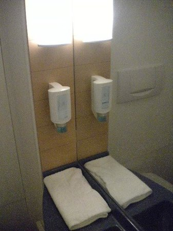 Novotel Suites Wien City Donau : Banheiro