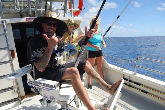 Lahela Sportfishing: Marlin hookup