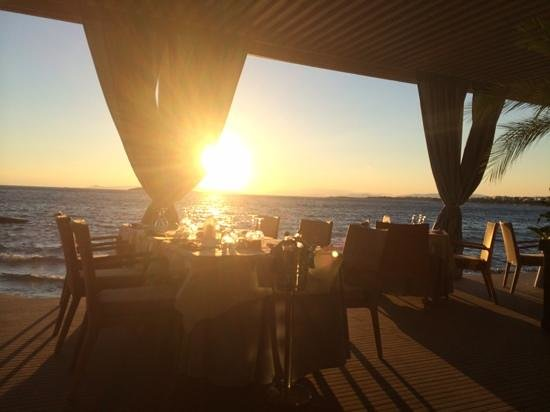 Divani Apollon Palace & Thalasso: Fischrestaurant