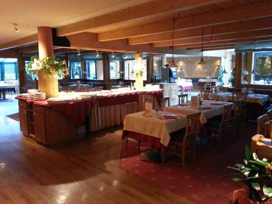 Sporthotel Rosatti: sala da pranzo