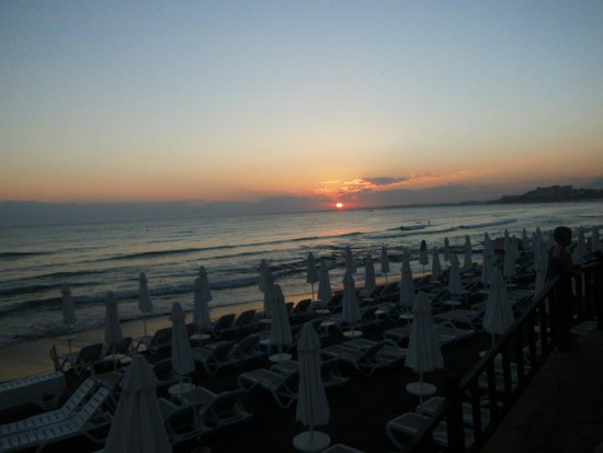 Altinkum Bungalows : lovely sunsets