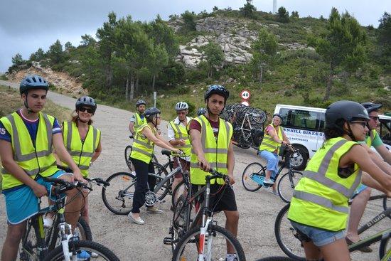 Salou Downhill Bikes : en-route