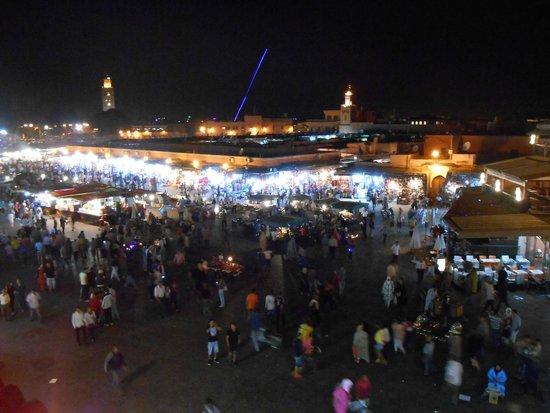 Le Marrakchi: vista da favola!