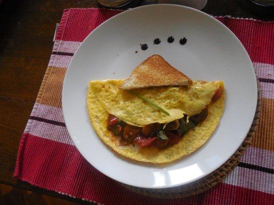 Gourmet Giglio Bianco B&B : Breakfast