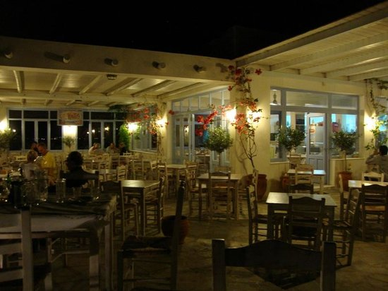 Kontos Restaurant of Aegean Cuisine : Pleasant seating area