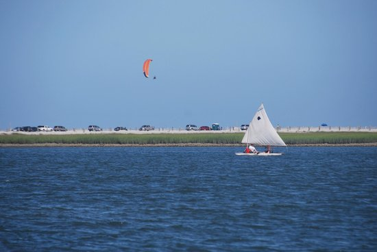 Sailing The Edge Of America Folly Beach And Parasailing At