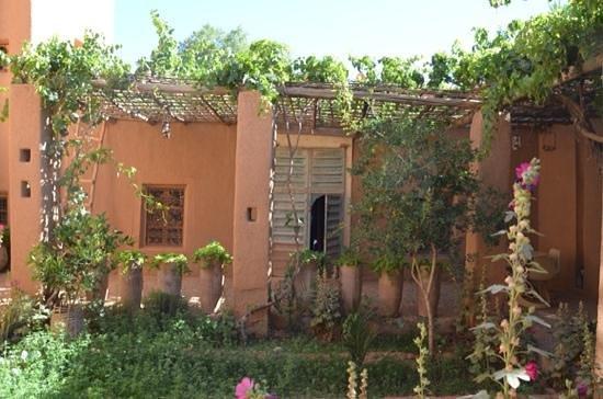 Kasbah Ait Moussa: Jardin