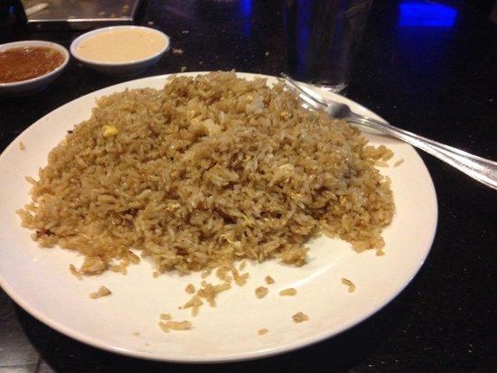Aki Steak House and Sushi Bar: Habatchi fried rice