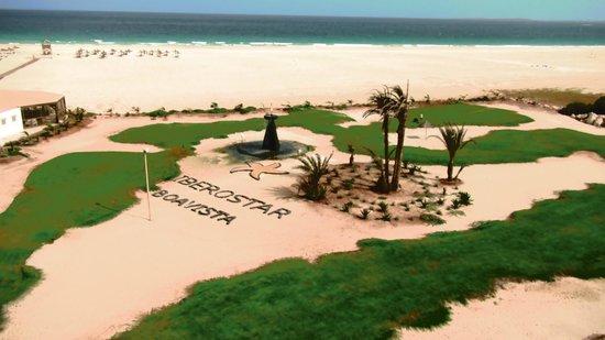 IBEROSTAR Club Boa Vista: Jardim da praia