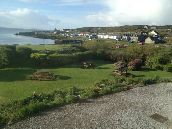 Isle of Coll Hotel: View from the front door
