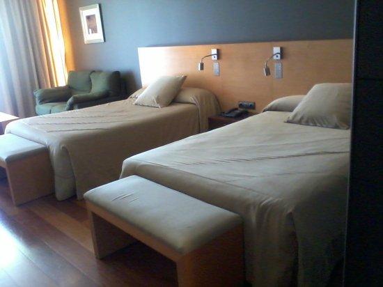 Andorra Park Hotel: Camas