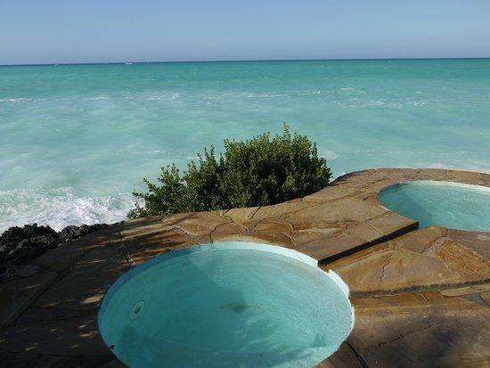 The Zanzibari: View of the sea from the hotel