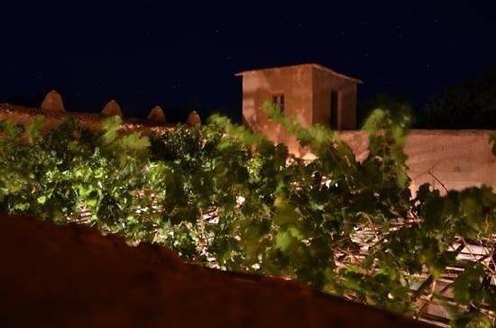 Kasbah Ait Moussa: Vue terrasse de la chambre