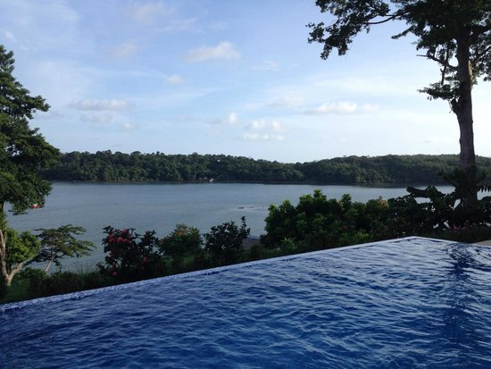 Hotel Bocas del Mar : an infinite pool as a second pool served every guests
