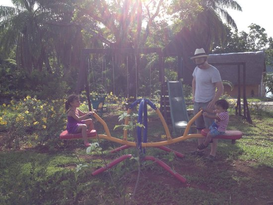 Hotel Bocas del Mar : really nice for kids in the morning