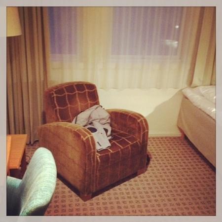 Thon Hotel Terminus : een persoons kamer