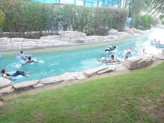 Aquaventure Waterpark : relaxing