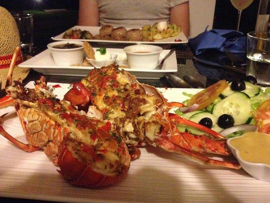 Hotel Bocas del Mar : Lobster!!