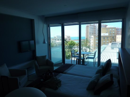 Parador de Cádiz: Blick ins Zimmer