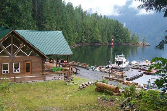 Homfray Creek, Canada: Homfray Lodge - Desolation Sound, BC, Canada