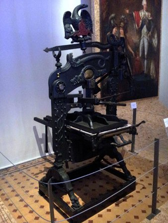 National Museum of Archaeology: Printing Press